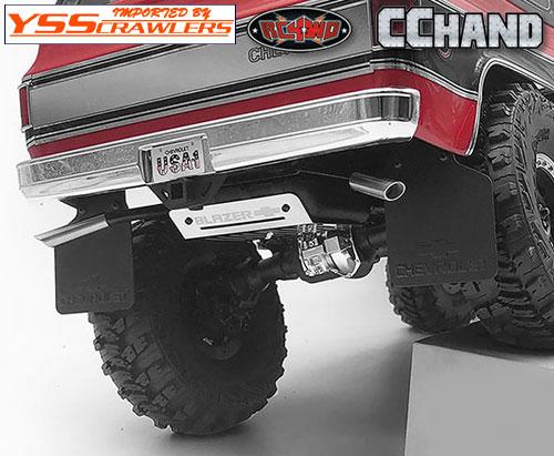 RC4WD デュアルマフラー&燃料タンク for Traxxas TRX-4![Blazer]