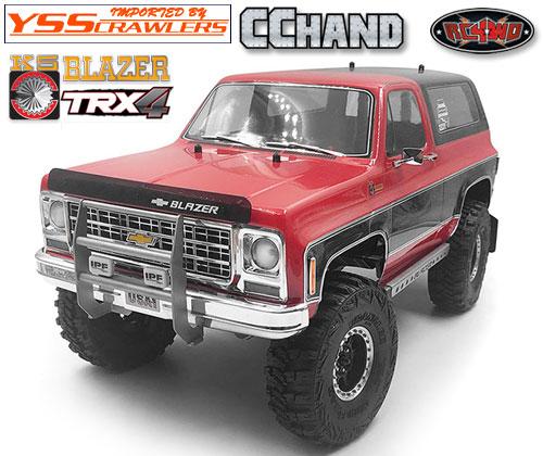 RC4WD カウボーイ フロント グリル IPF for Traxxas TRX-4![Blazer][シルバー]