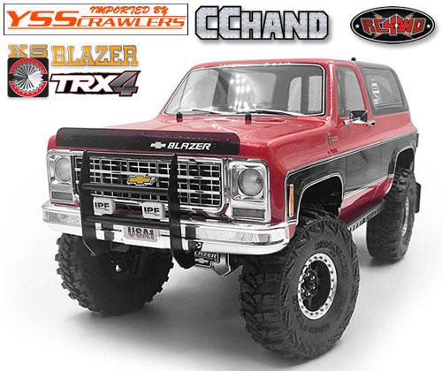RC4WD カウボーイ フロント グリル IPF for Traxxas TRX-4![Blazer][ブラック]