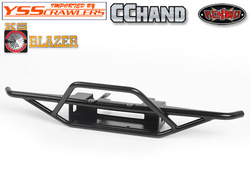 RC4WD バックス フロント バンパー for Traxxas TRX-4![Blazer][ブラック]