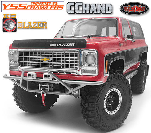 RC4WD バックス フロント バンパー IPF for Traxxas TRX-4![Blazer][シルバー]