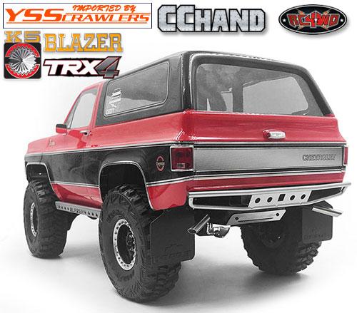 RC4WD バックス リア バンパー for Traxxas TRX-4![Blazer][シルバー]