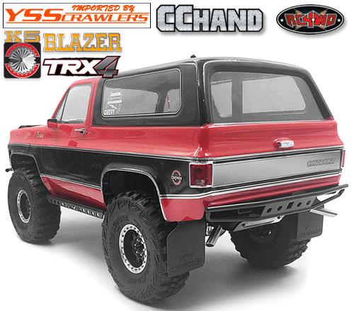 RC4WD バックス リア バンパー for Traxxas TRX-4![Blazer][ブラック]