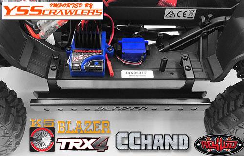RC4WD コーテックス サイドスライダー for Traxxas TRX-4![Blazer][ブラック]