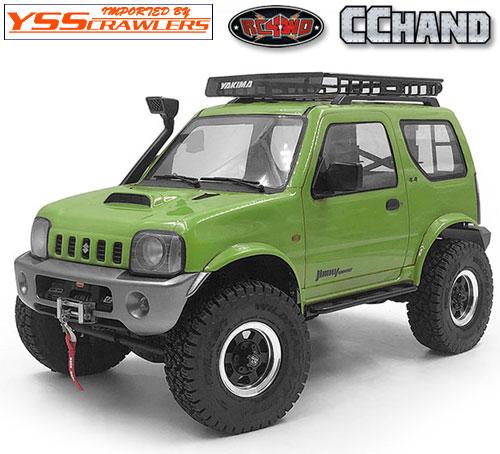 RC4WD 6本スポーク 1.55 ビードロックホイール![ブラック]