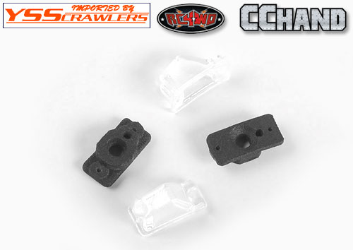Turn Signal Set for Axial 1/10 SCX10 II UMG10 4WD Rock Crawler