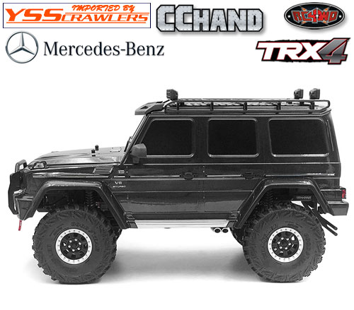 Adventure Roof Rack for Traxxas TRX-4 Mercedes-Benz G-500