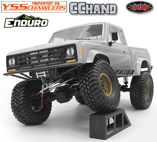 RC4WD スチールチューブフロントバンパー for Element Enduro!