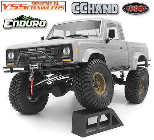 RC4WD デュアルチューブフロントバンパー for Element Enduro!