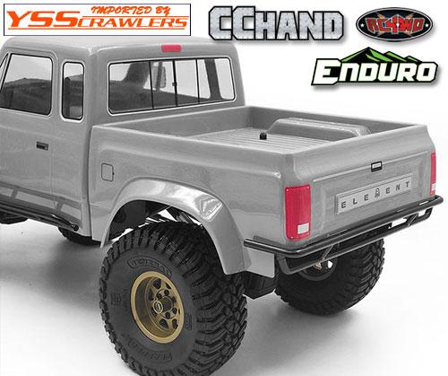 RC4WD スチールチューブリアバンパー for Element Enduro!