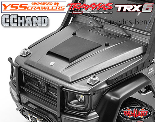 RC4WD ボンネット スクープ for TRX-4 TRX-6![Mecedes]