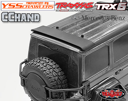 RC4WD リアスポイラー for TRX-4 TRX-6![Mecedes]