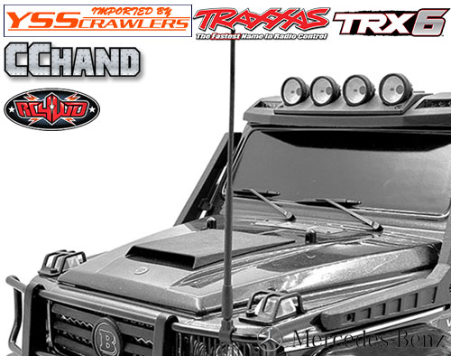 RC4WD CB アンテナ for TRX-4 TRX-6![Mecedes]