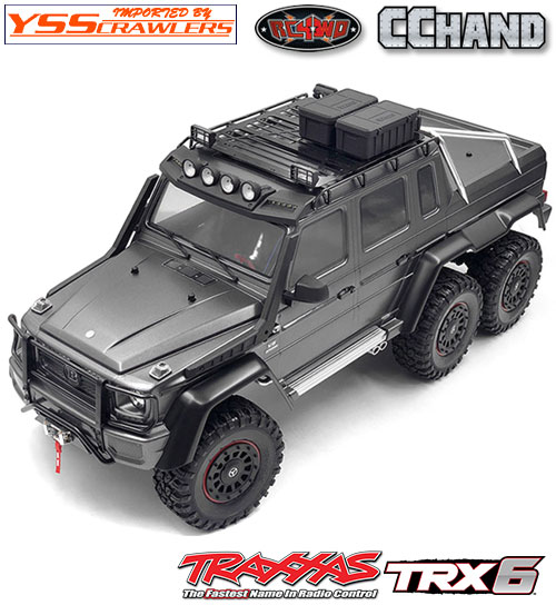 RC4WD アドベンチャー ルーフラック for TRX-6![フォグ][Mecedes]
