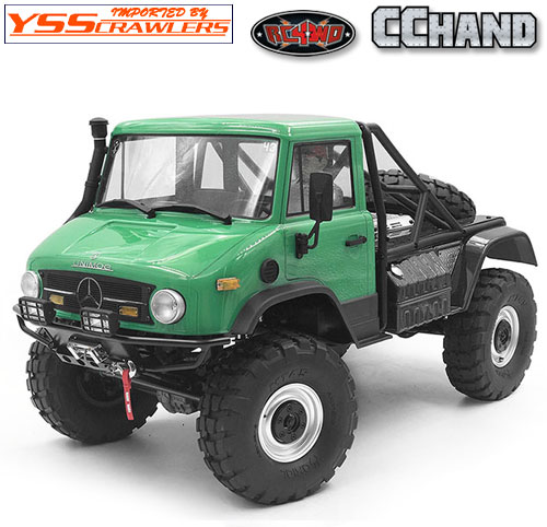 RC4WD Guardian スチールフロントバンパー フォグ for Axial UMG10![ブラック]