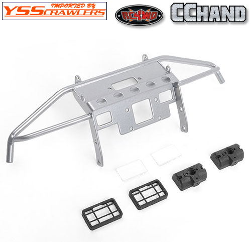RC4WD Guardian Steel Front Winch Bumper for Axial 1/10 SCX10 II UMG10