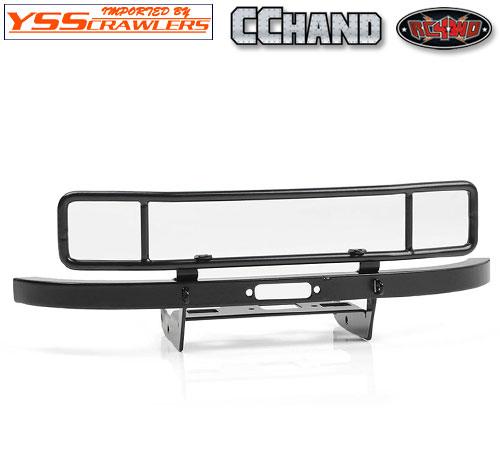 RC4WD Ranch スチールフロントバンパー for Axial UMG10![ブラック]