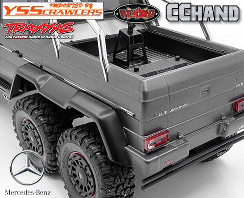 RC4WD Steel Body Decal Sheet for Traxxas Mercedes-Benz G 63 AMG 6x6