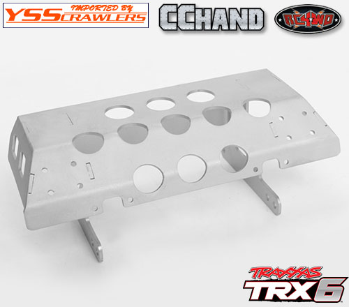 RC4WD Tarka Rear Skid Plate for Traxxas Mercedes-Benz G 63 AMG 6x6