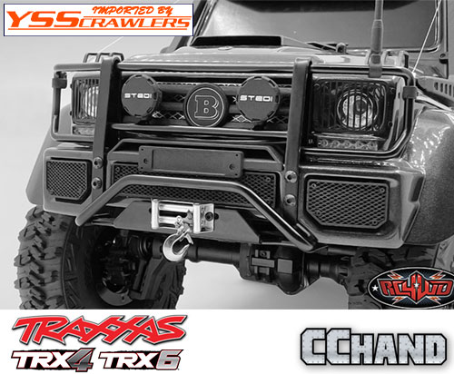RC4WD コマンドー フロント バンパー for TRX-4![ライトキット][Mecedes]