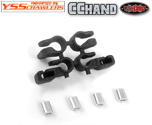RC4WD Steel Limb Risers for Traxxas Mercedes-Benz G Trucks