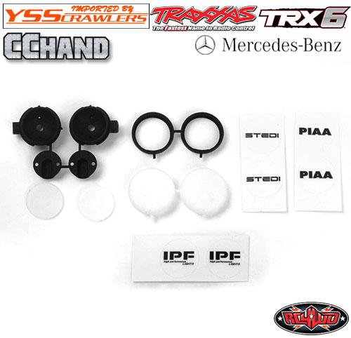 RC4WD IPF PIAA フォグライト for TRX-4 TRX-6![2個]