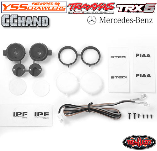 RC4WD IPF PIAA フォグライト for TRX-4 TRX-6![2個][LED]