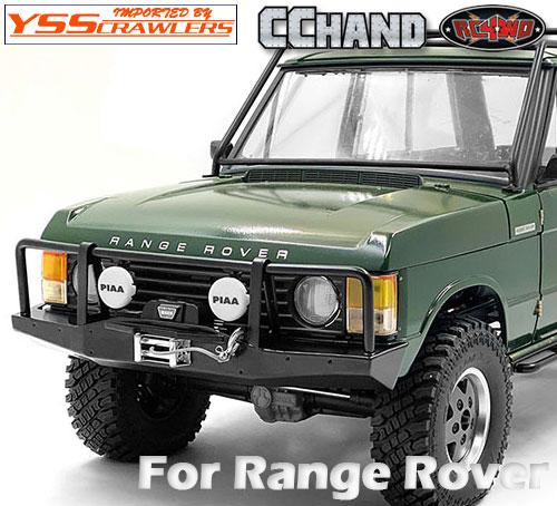 RC4WD オクサー メタル フロント ウィンチ バンパー for レンジローバー![JS Scale]