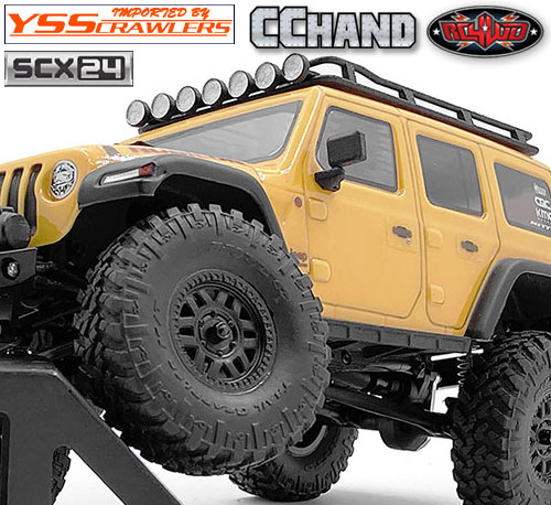 RC4WD サイドスライダーセット タイプA for Axial SCX24![ジープ]