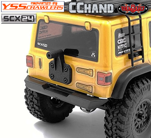 RC4WD 背面タイヤホルダー for Axial SCX24![ジープ]