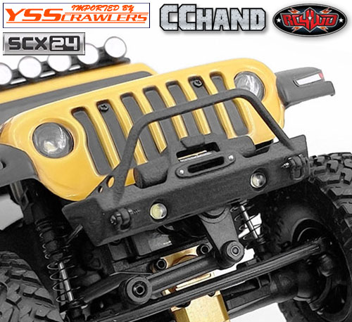 RC4WD フロントウィンチバンパー for Axial SCX24![ジープ]
