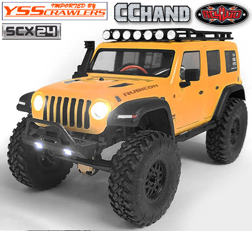 RC4WD LEDヘッドライトシステム for Axial SCX24![ジープ]