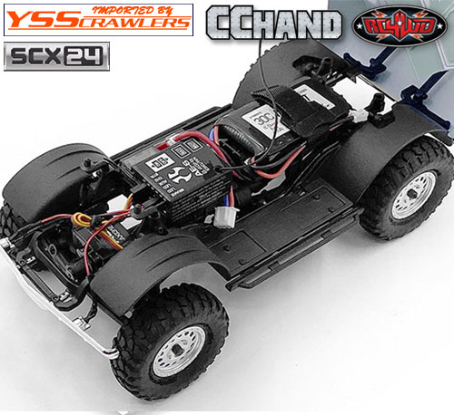 RC4WD インナーフェンダーキット for Axial SCX24![シボレーC10]