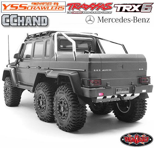 RC4WD オクサー リアバンパー for TRX-4 TRX-6![ブラック][Mecedes]