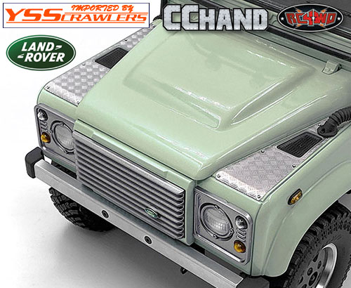 RC4WD 縞鋼板フロントサイドガード for 2015 D90ピックアップ!