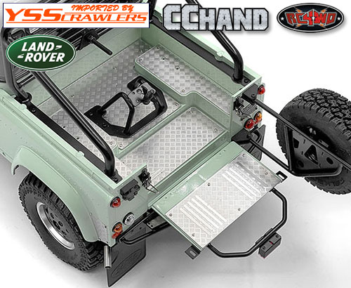 RC4WD 縞鋼板テールゲートガード for 2015 D90ピックアップ!