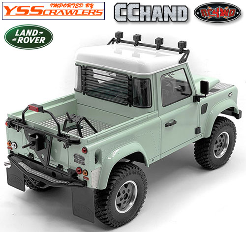 RC4WD リアウィンドーガード for 2015 D90ピックアップ!