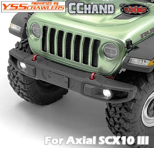 RC4WD OEMナローフロントウィンチバンパー STガード/NP for Axial SCX10-III ジープ JLU!