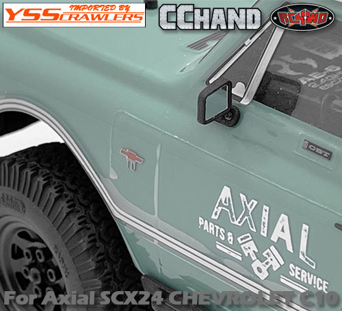 RC4WD ドアミラー for Axial SCX24![シボレーC10]