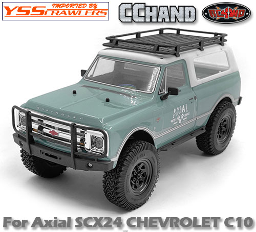 RC4WD フロントバンパー for Axial SCX24![シボレーC10]