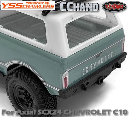 RC4WD リアバンパー for Axial SCX24![シボレーC10]