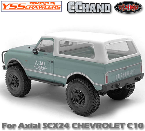 RC4WD リアルーフ for Axial SCX24![シボレーC10]