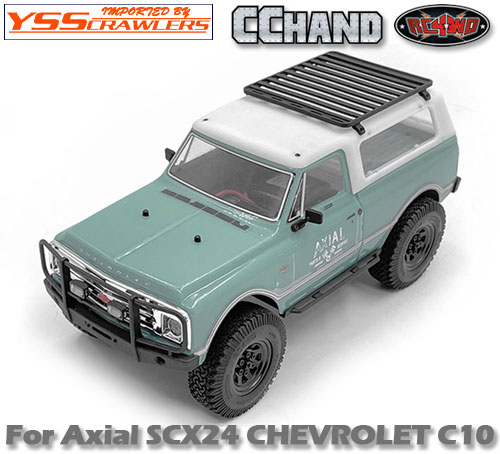 RC4WD コンパクトルーフラック for Axial SCX24![シボレーC10]