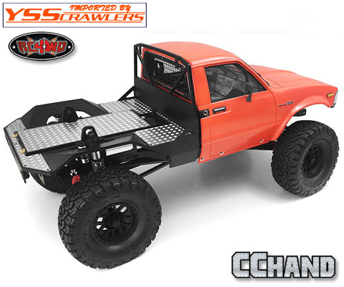 RC4WD メタルリアベッド タイプ A for Axial SCX10, SCX10-II(ハイラックス)