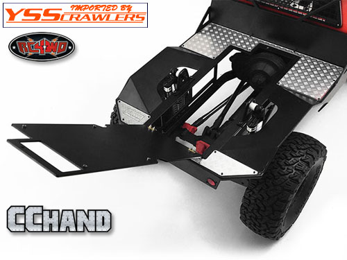 RC4WD Conversion Package w/Metal Rear Bed and Interior Package for Mojave Body and Axial SCX10 I & II (Style A)