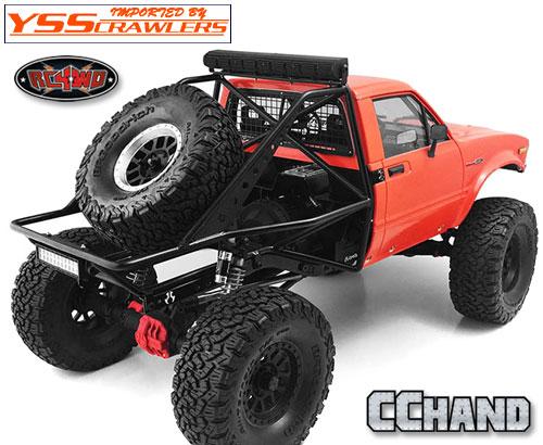 RC4WD メタルリアベッド タイプ B for Axial SCX10, SCX10-II(ハイラックス)
