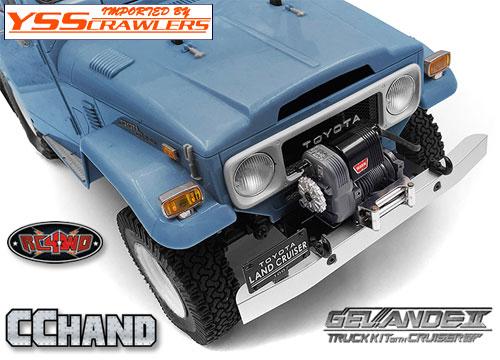 RC4WD FJ40 クラッシック フロントバンパー for G2 クルーザーボディー!