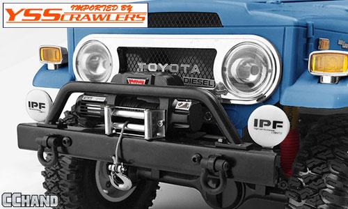 RC4WD フロント ウィンチ バンパー for G2 FJ40! [ブラック]