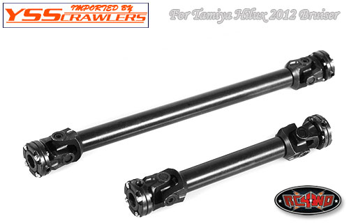 RC4WD Ultra Scale Hardened Steel Driveshaft set for Tamiya Bruiser