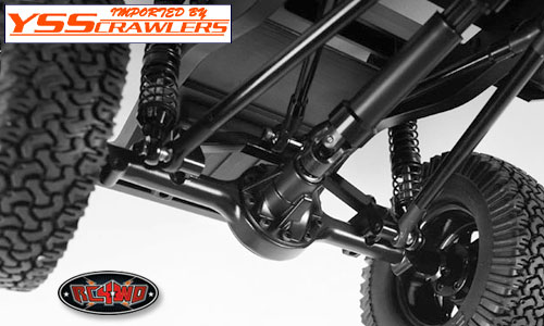 RC4WD Yota II Ultimate Scale Cast Axle [Rear]